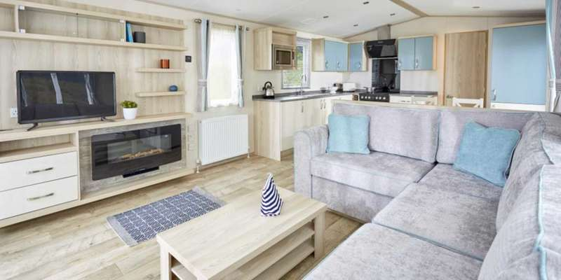 3 Bedrooms Caravan Mobile Home for sale in Ladram Bay Holiday Park