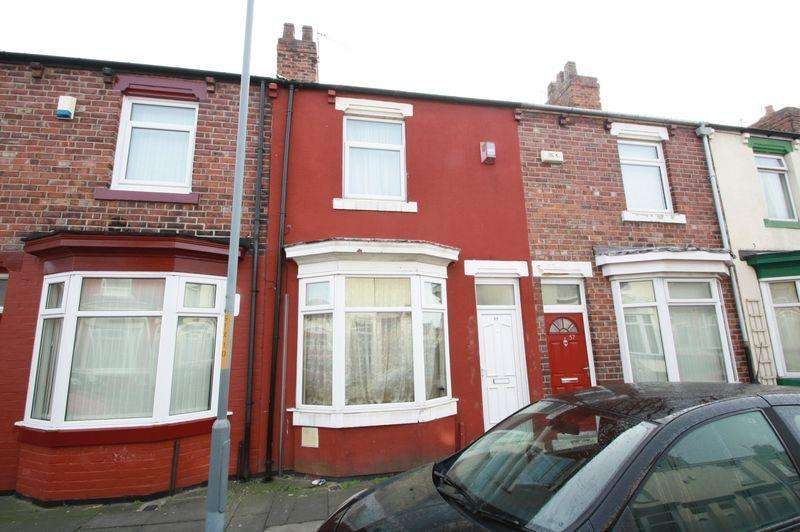 2 Bedrooms Terraced House for sale in Surrey Street, Middlesbrough, TS1 4QA