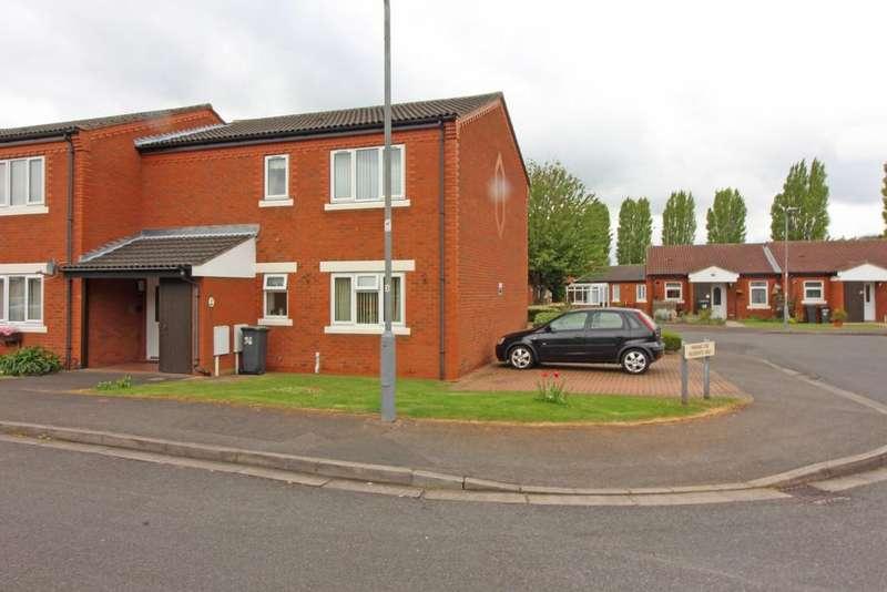 2 Bedrooms Apartment Flat for sale in Calverton Close, Toton