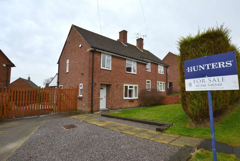 3 Bedrooms Semi Detached House for sale in Newby Road, Chesterfield, S41 8HG