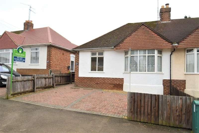 2 Bedrooms Semi Detached Bungalow for rent in Bryant Road, Kettering, NN15