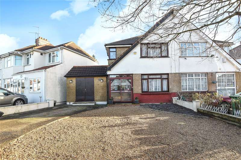 3 Bedrooms Semi Detached House for sale in Welbeck Road, Harrow, Middlesex, HA2