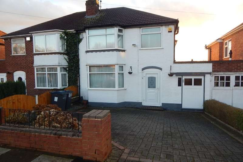 3 Bedrooms Detached House for sale in Green Park Road, Birmingham, B31