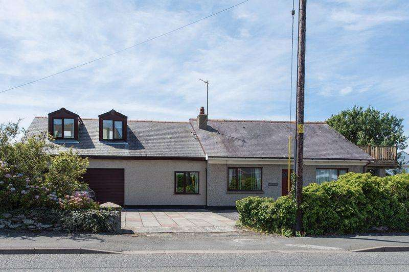 5 Bedrooms Detached Bungalow for sale in Lon St Ffraid, Trearddur Bay