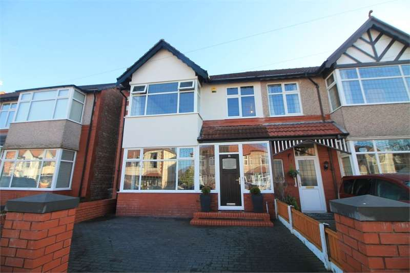 4 Bedrooms Semi Detached House for sale in Manor Avenue, Crosby, Merseyside