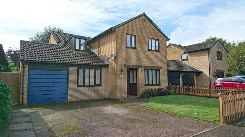 4 Bedrooms Detached House for sale in Hawthorn Drive, Brackley