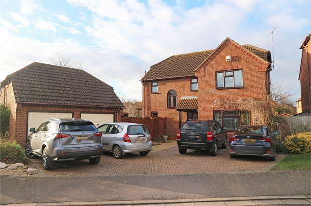 4 Bedrooms Detached House for sale in Aquila Way, Langtoft, Peterborough, Lincolnshire