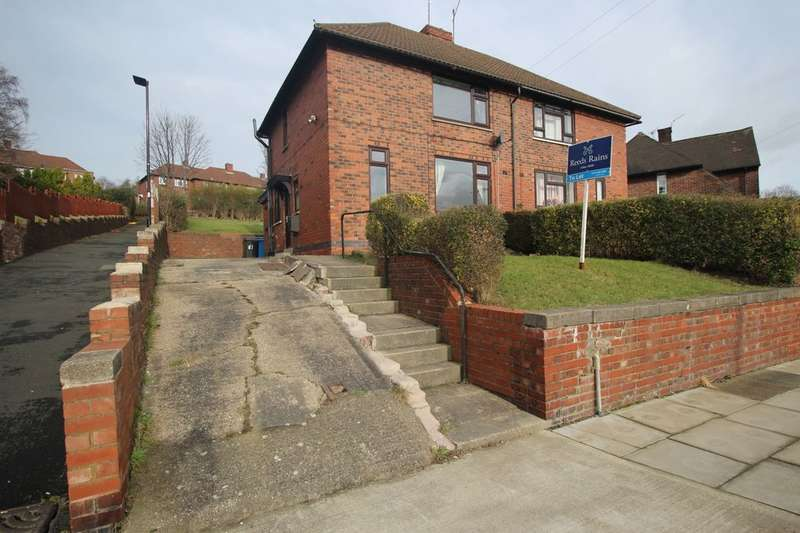 2 Bedrooms Semi Detached House for rent in Colley Avenue, Sheffield, S5