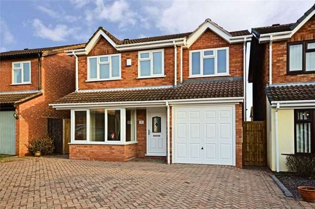 4 Bedrooms Detached House for sale in Curlew Close, Lichfield, Staffordshire