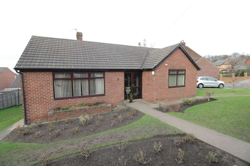 2 Bedrooms Detached Bungalow for sale in Churchfield Lane, Glasshoughton, Castleford, WF10