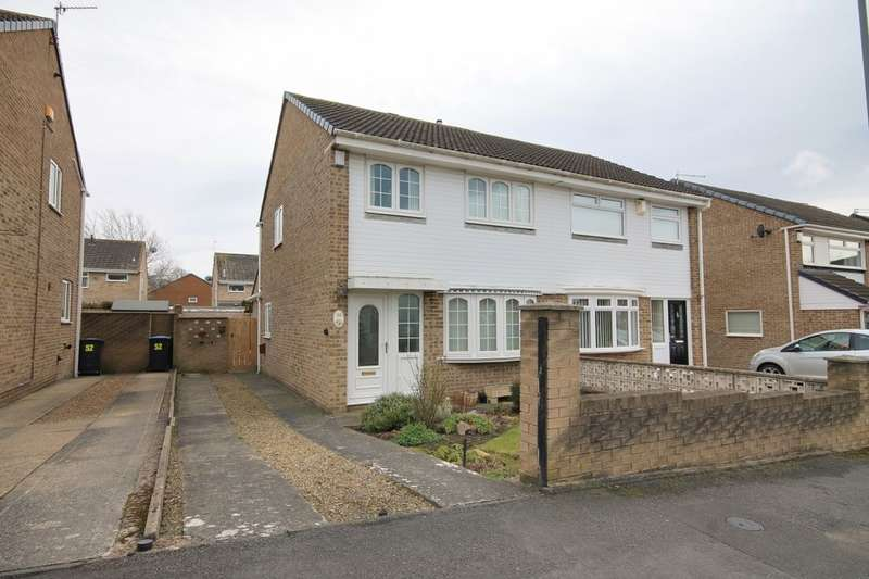 3 Bedrooms Semi Detached House for sale in Thorntons Close, Pelton, Chester Le Street, DH2