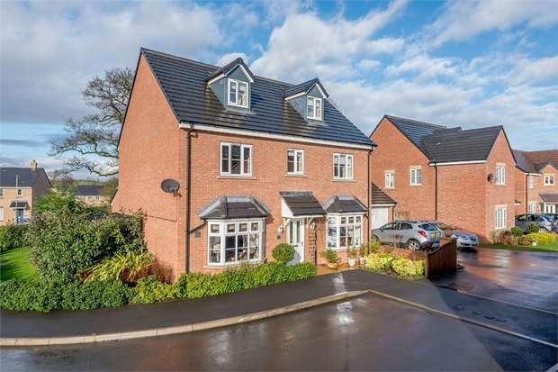 5 Bedrooms Detached House for sale in Hough Way, Shifnal, Shropshire