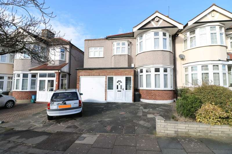 5 Bedrooms Semi Detached House for sale in Fowey Avenue, Ilford, IG4