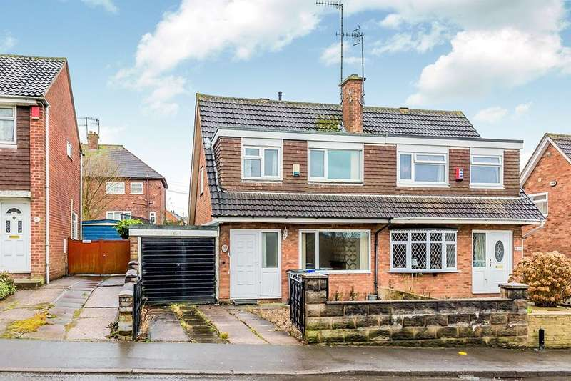 3 Bedrooms Semi Detached House for sale in Chell Heath Road, Stoke-On-Trent, ST6