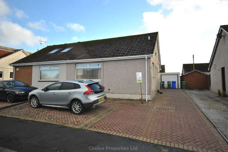 2 Bedrooms Semi Detached Bungalow for sale in Hunter Road, Crosshouse, KA2 0LD