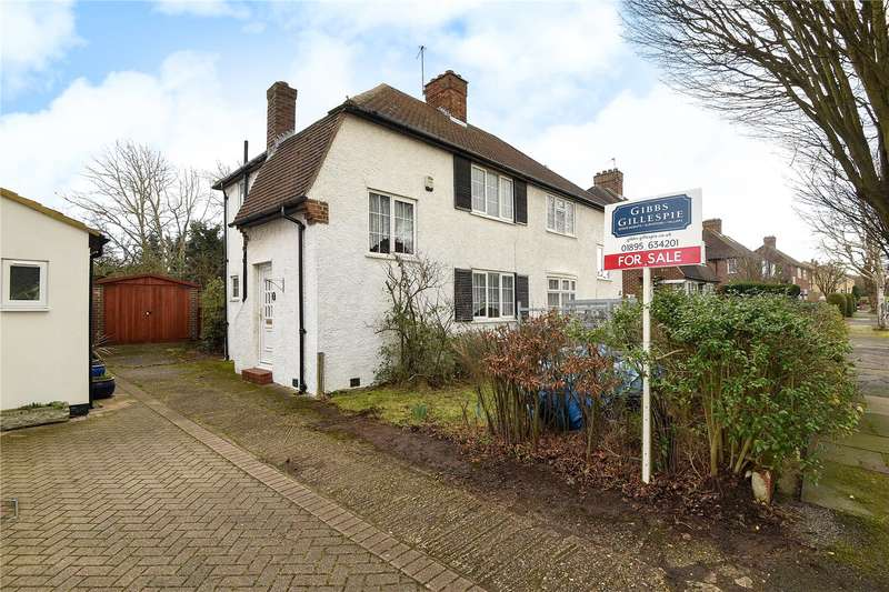 2 Bedrooms Semi Detached House for sale in Harvey Road, Northolt, Middlesex, UB5