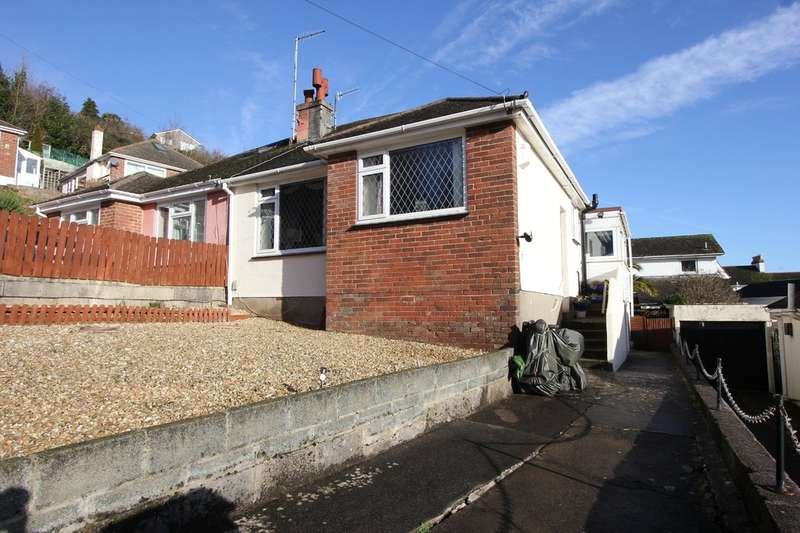 2 Bedrooms Semi Detached Bungalow for sale in Rossall Drive, Paignton