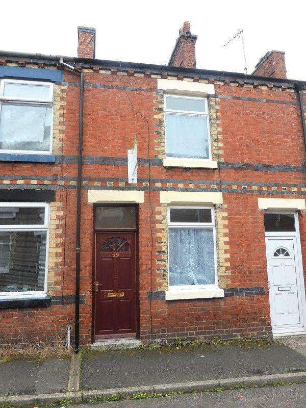 2 Bedrooms Terraced House for sale in Grove Street, Leek, Staffordshire