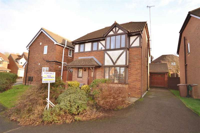 4 Bedrooms Detached House for sale in Wells Fold Close, Clayton Le Woods, Chorley