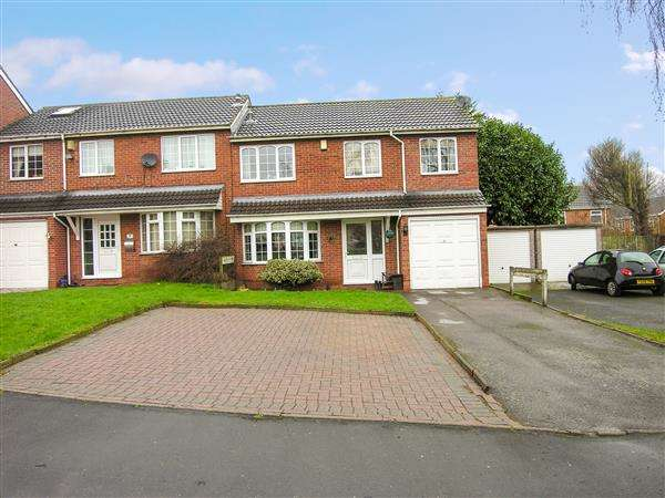 4 Bedrooms Semi Detached House for sale in Centurion Close, Coleshill