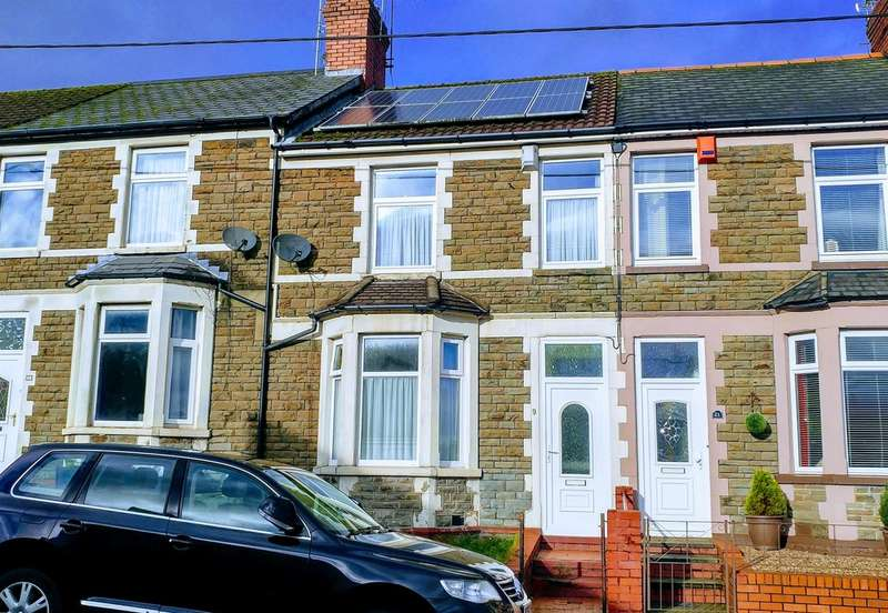 3 Bedrooms Terraced House for sale in Bowls Terrace, Caerphilly