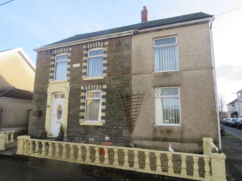 3 Bedrooms Detached House for sale in Gron Road, Gwaun Cae Gurwen, Ammanford