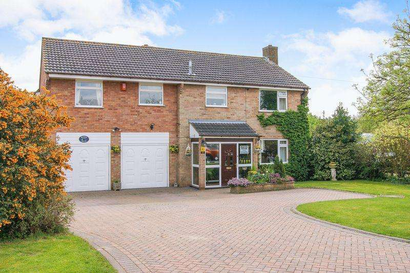 5 Bedrooms Detached House for sale in School Lane, Old Somerby
