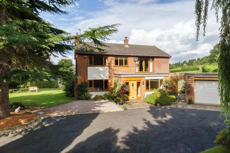 4 Bedrooms Detached House for sale in Cedar House, Willington, CW6 0PH