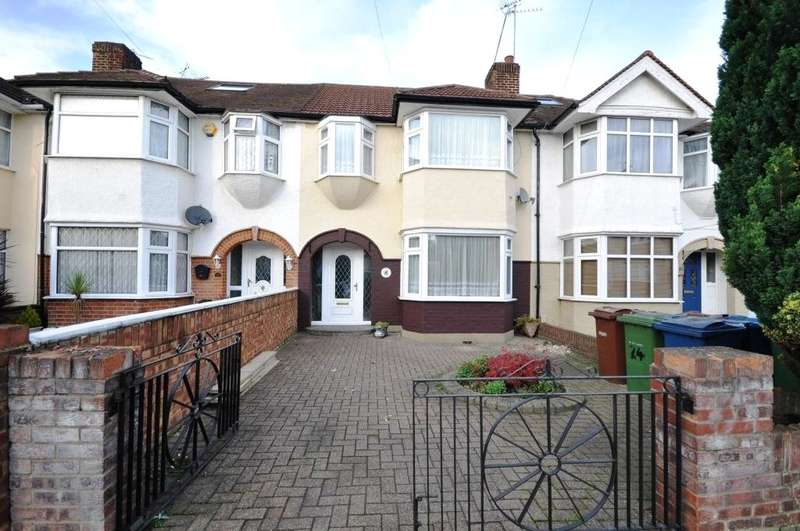 3 Bedrooms Terraced House for sale in Earlsmead, Harrow, Middlesex, HA2