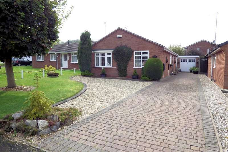 3 Bedrooms Detached Bungalow for sale in Meadow View, Rolleston-on-Dove