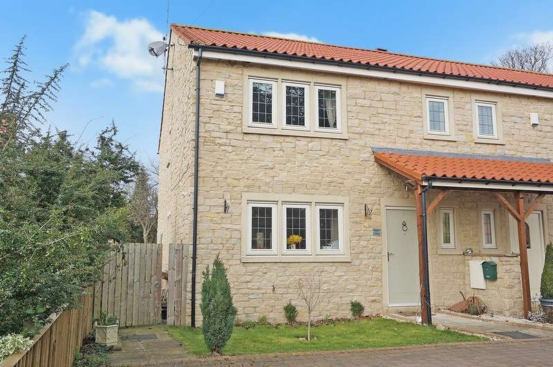 3 Bedrooms End Of Terrace House for rent in The Croft, Saxton