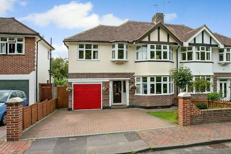 4 Bedrooms Semi Detached House for sale in St. Johns Road, Tunbridge Wells