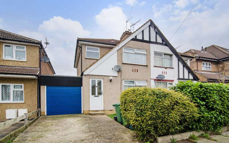 3 Bedrooms Semi Detached House for sale in Weald Lane, Harrow Weald, HA3