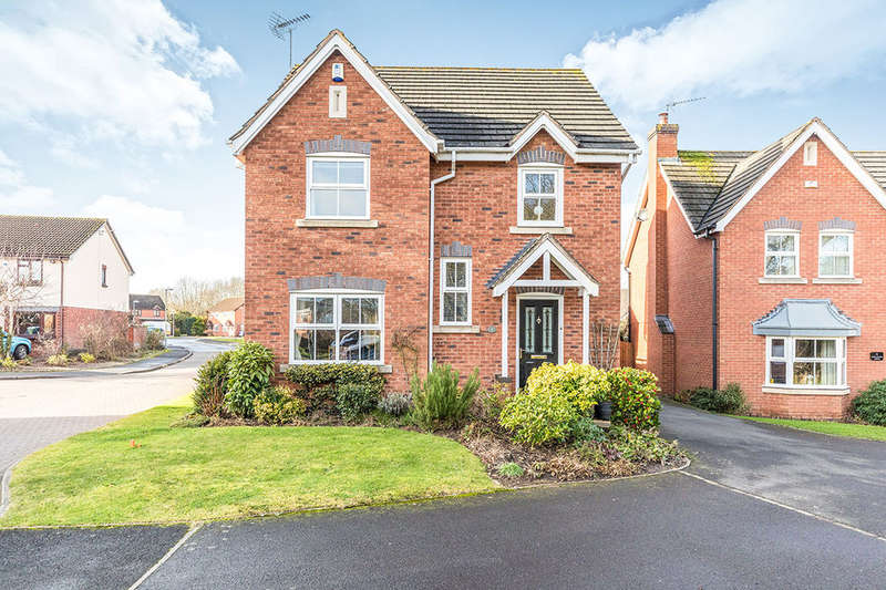 4 Bedrooms Detached House for sale in Wood Leason Avenue, Lyppard Hanford, Worcester, WR4