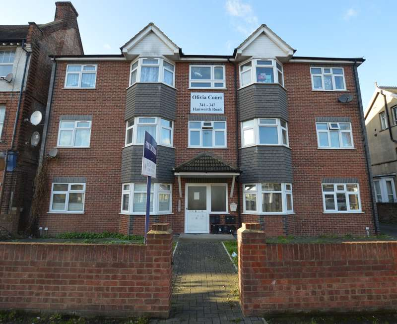 2 Bedrooms Ground Flat for sale in Olivia Court, Hanworth Road, Hounslow, Middlesex, TW3 3SE