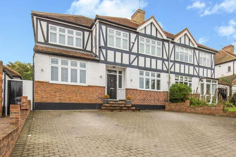 4 Bedrooms Semi Detached House for sale in The Woodfields, Sanderstead, Surrey, CR2 0HE