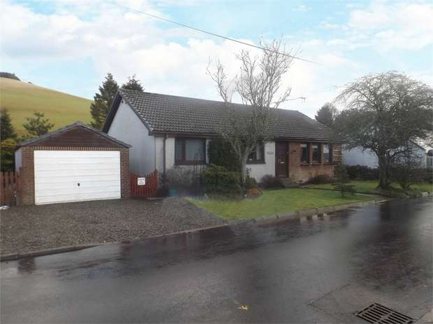 3 Bedrooms Detached Bungalow for sale in Howgate Road, Roberton, Biggar, South Lanarkshire