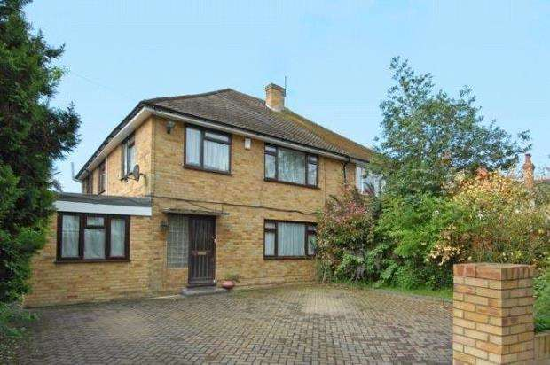 4 Bedrooms Semi Detached House for sale in Warren Road, Woodley, Reading