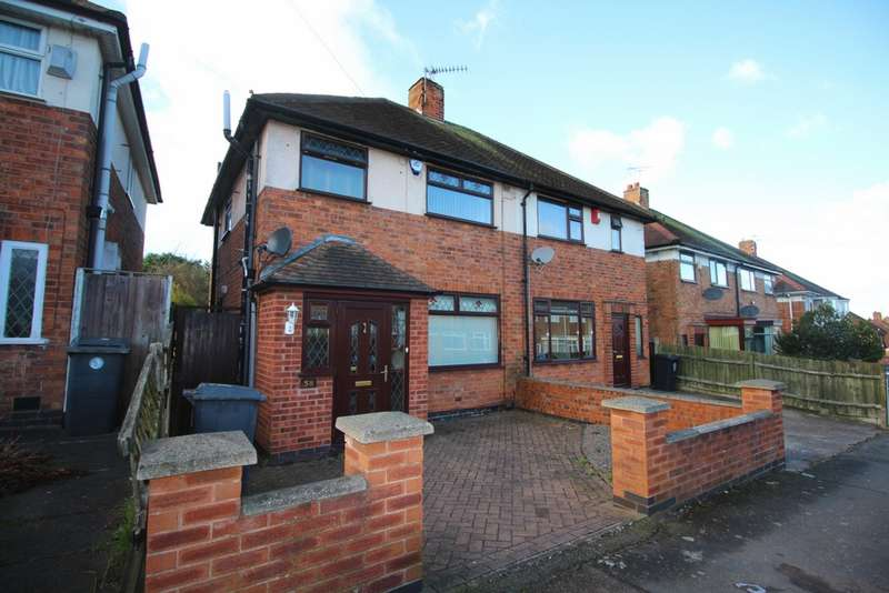 3 Bedrooms Semi Detached House for sale in Havencrest Drive, Leicester, LE5