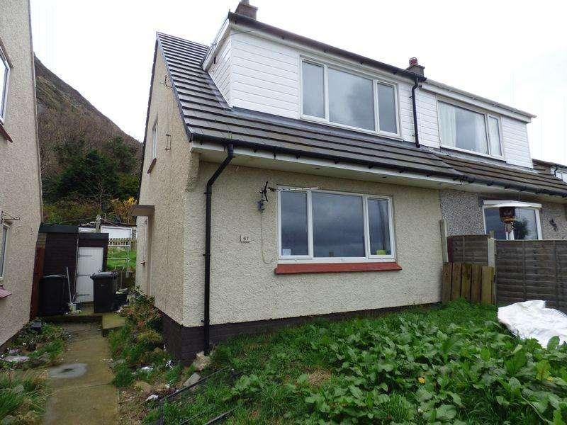3 Bedrooms Semi Detached House for sale in 67 Pendalar, Llanfairfechan LL33 0RD