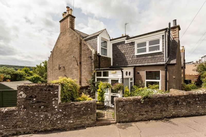2 Bedrooms End Of Terrace House for sale in Eastmill Brae Cottages, Brechin, Angus, DD9 7ED