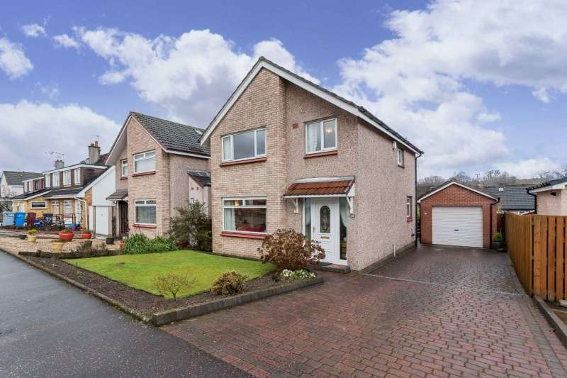 3 Bedrooms Detached Villa House for sale in Kirkwall Avenue, Blantyre, Glasgow, G72 9NU