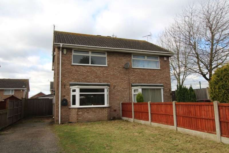 2 Bedrooms Semi Detached House for sale in Darwin Close, Nottingham, NG5