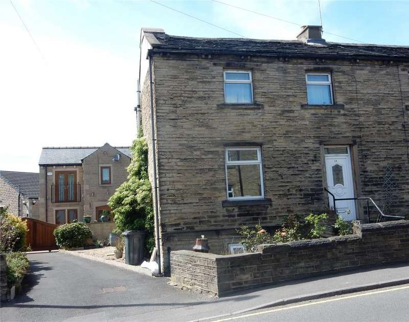 2 Bedrooms Terraced House for sale in Shop Lane, Kirkheaton, HUDDERSFIELD, HD5