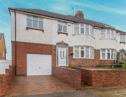 4 Bedrooms Semi Detached House for sale in Marsden Lane, Old Aylestone, Leicester, Leicestershire
