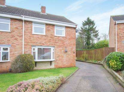 3 Bedrooms Semi Detached House for sale in Beverley Close, Thurmaston, Leicester, Leicestershire