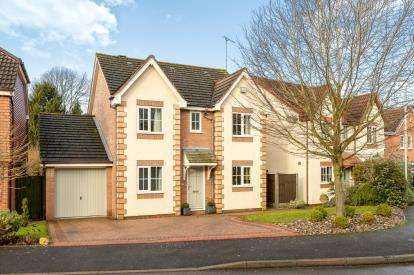 4 Bedrooms Detached House for sale in Quinton Close, Hatton Park, Warwick, Warwickshire
