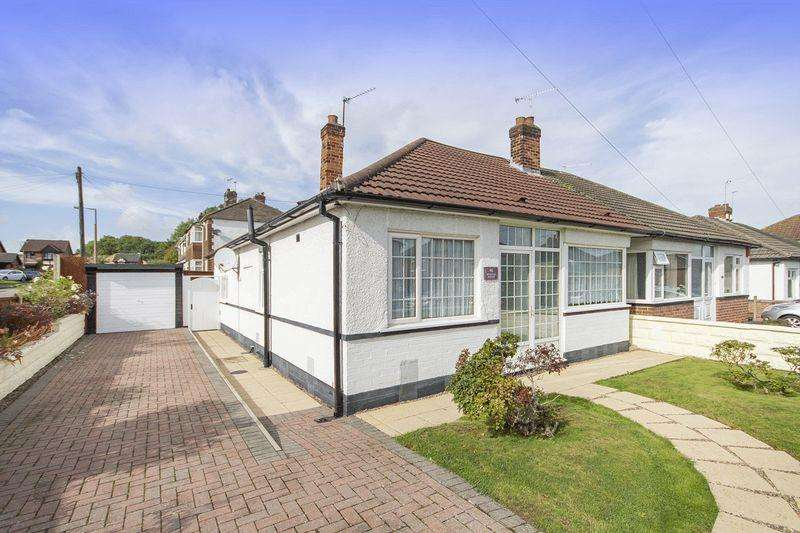 2 Bedrooms Semi Detached Bungalow for sale in NEVINSON AVENUE, SUNNYHILL