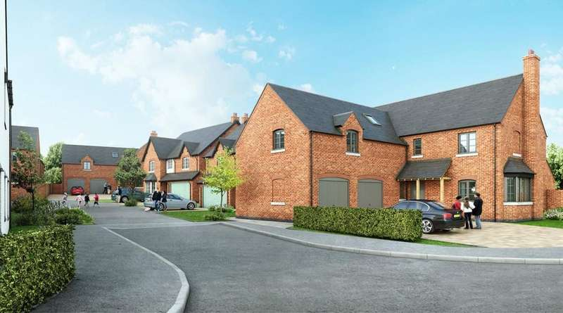 4 Bedrooms Detached House for sale in The Paddocks, Normanton Road, Packington