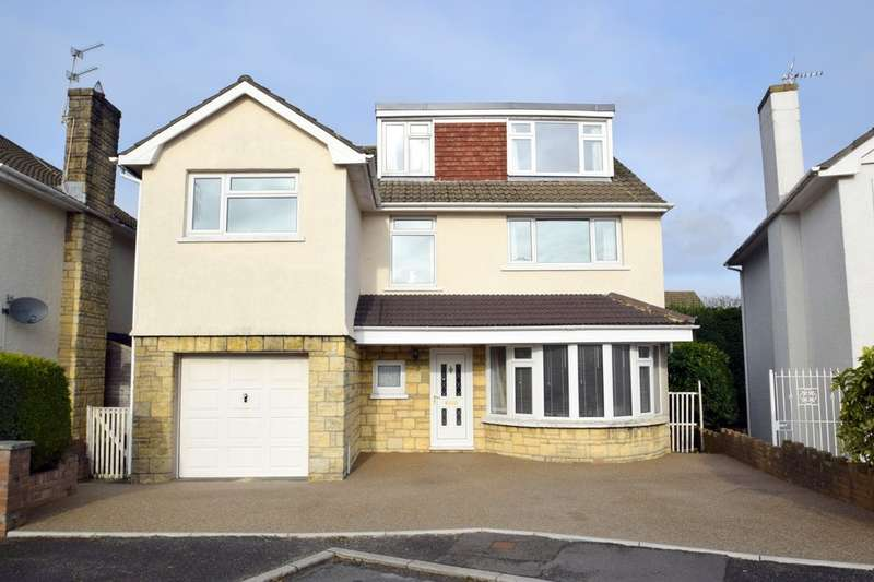 4 Bedrooms Detached House for sale in 4 Bryntirion Close, Bridgend, Bridgend County Borough, CF31 4BZ.